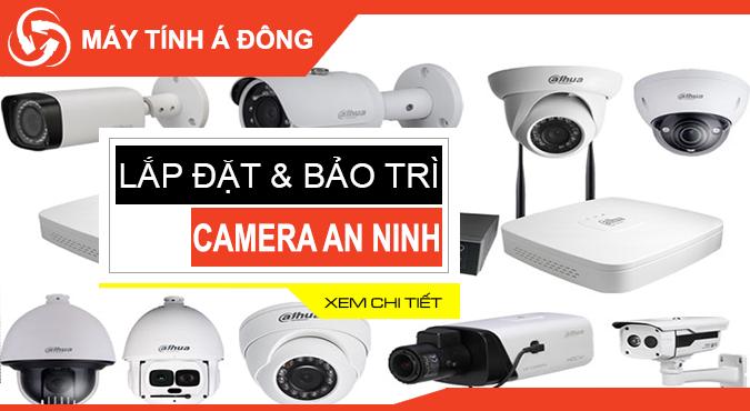 Lắp đặt và bảo trì hệ thống camera an ninh