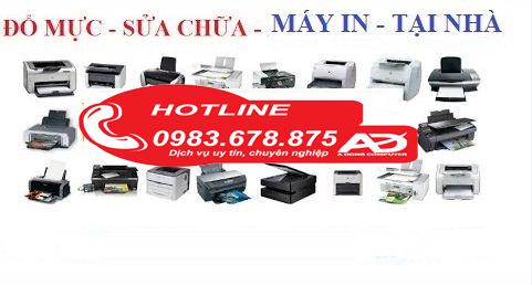 Dịch vụ đổ mực máy in tại Thanh Xuân