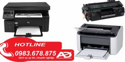 Đổ mực máy in tại nhà Đông Đa