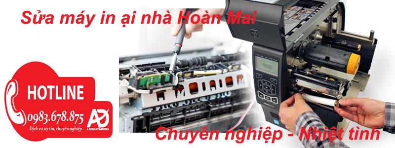 Sửa máy in tại nhà Hoàng Mai