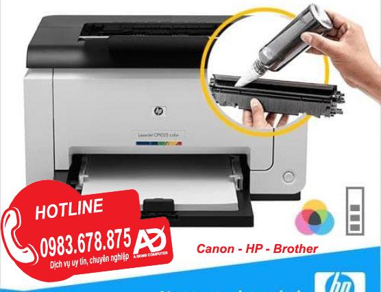 Đổ mực máy in tại Hoài Đức