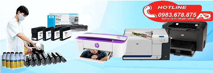 Đổ mực máy in tại Từ Liêm