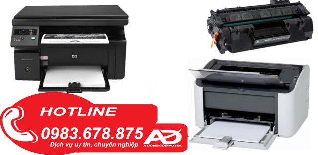 Đổ mực máy in tại Mỹ Đình